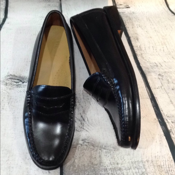 6e4e16984a2 Bass Shoes - G.H. Bass Co Black Diane Weejun Penny Loafer 7.5
